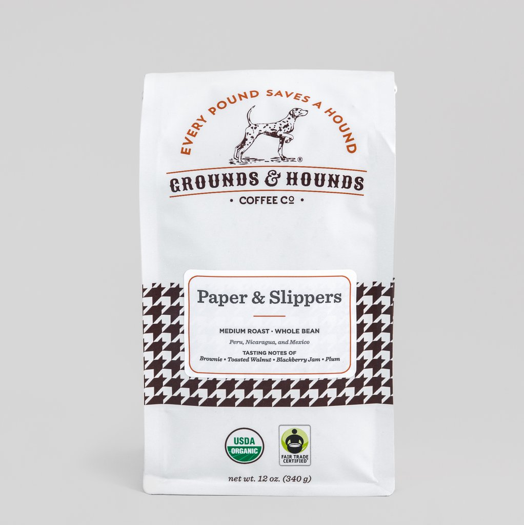 grounds-hounds-coffee-paper-slippers-whole-bean
