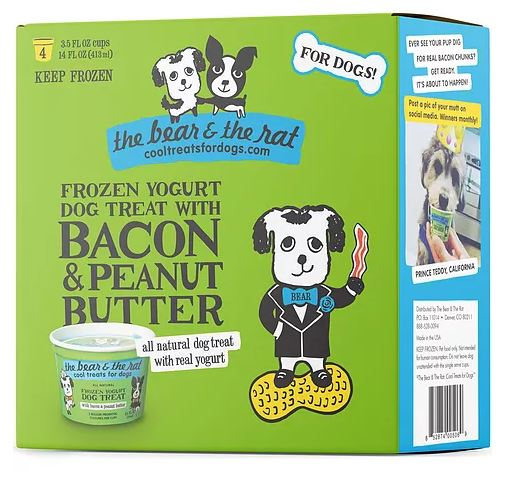 bear-and-rat-dog-treat-peanut-butter-with-bacon-frozen-yogurt