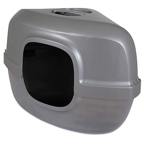 petmate-hooded-corner-litter-pan