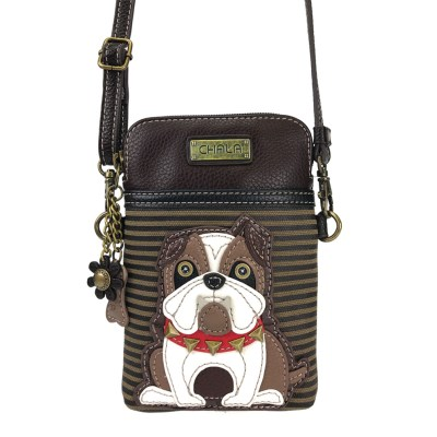 chala-phone-purse-bulldog-green-stripe