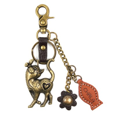 chala-keychain-metal-cat
