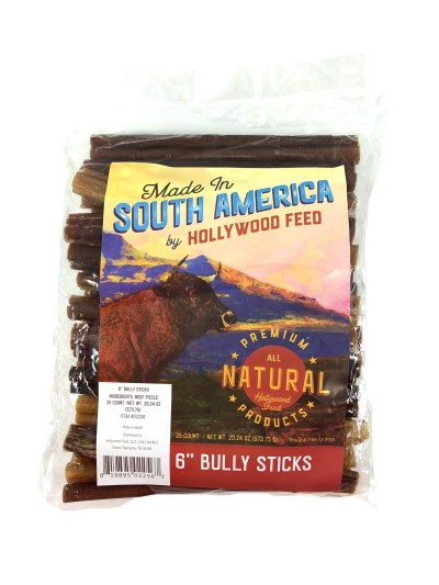 made-in-south-america-bullystick-6in-25-pack
