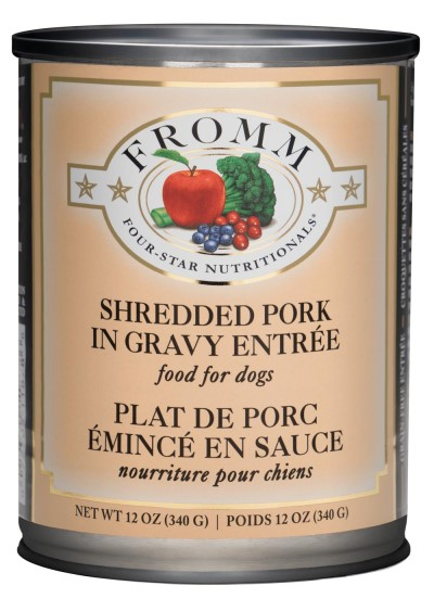 fromm-dog-food-four-star-shredded-pork-entrée-case-of-12