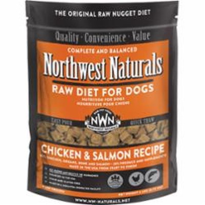 northwest-naturals-raw-dog-food-chicken-salmon-nuggets