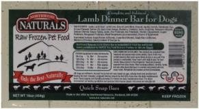 northwest-naturals-frozen-dog-food-lamb-dinner-bar