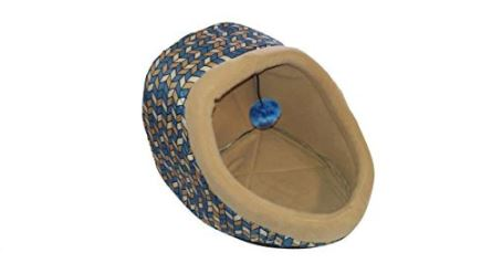 dallas-manufacturing-company-hooded-cat-bed-with-toy