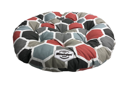 hollywood-feed-dog-bed-mississippi-made-tufted-round-bed-hexagons