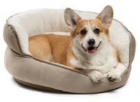 best-friends-dog-bed-urban-paw-throne-cuddler-wheat