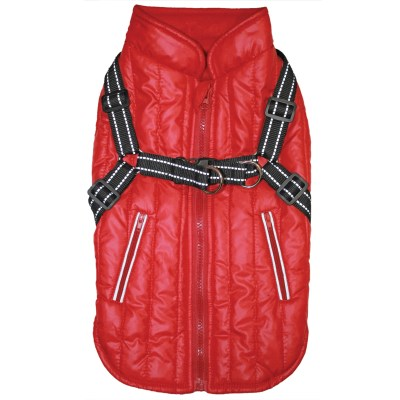 fashion-pet-harness-coat-red