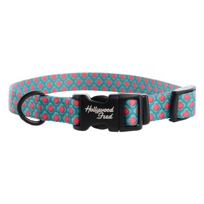 hollywood-feed-ohio-made-nylon-dog-collar-pink-petals