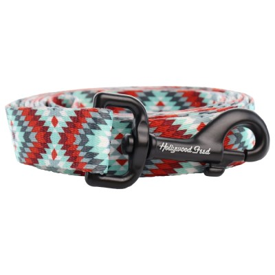 hollywood-feed-dog-leash-southwest-red-grey