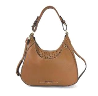 chala-sweet-tote-metal-paw-print-brown