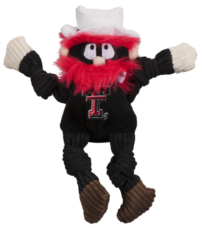 huggle-hounds-dog-toy-college-mascot-knotties-texas-tech-raider