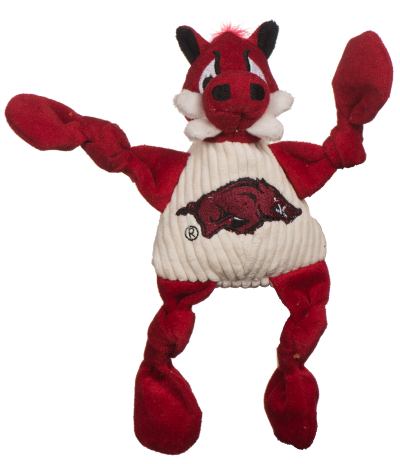 huggle-hounds-dog-toy-college-mascot-knotties-arkansas-razorback-tusk