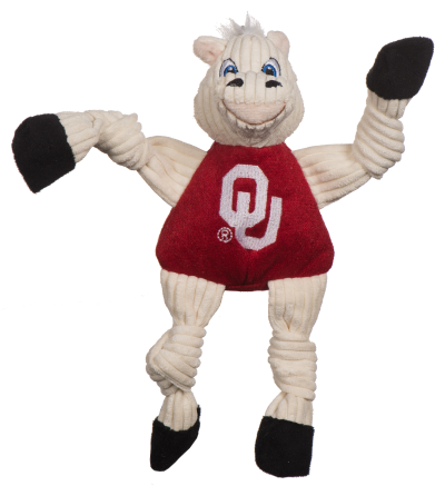 huggle-hounds-dog-toy-college-mascot-knotties-oklahoma-sooner
