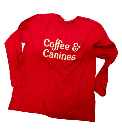 hollywood-feed-t-shirt-long-sleeve-canine-coffee-red