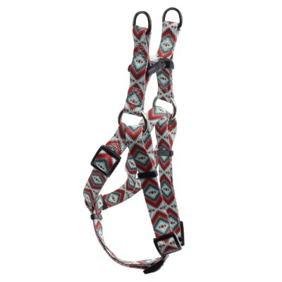 hollywood-feed-ohio-made-nylon-dog-harness-southwest-red