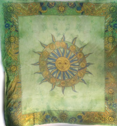Tapestry Sun With Zodiac