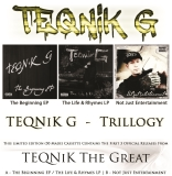 Teqnik G Trillogy Ltd To 50 Copies