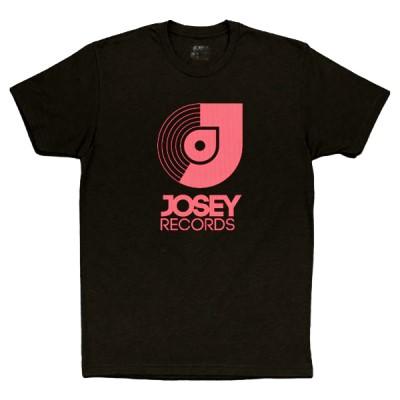 Josey Tee/Pink Logo Premium Tee@2x Large