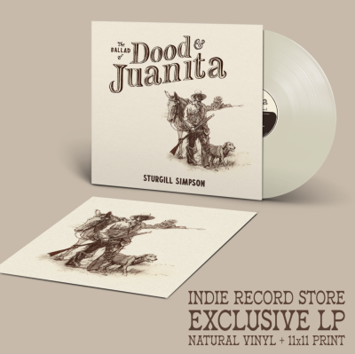 Simpson,Sturgill/Ballad Of Dood & Juanita (Indie Exclusive)@Natural Colored Vinyl