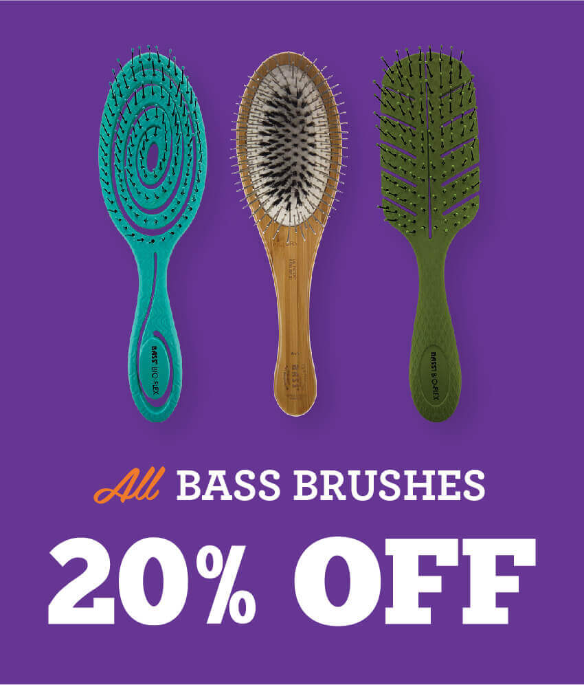 All Bass Brushes are 20% Off