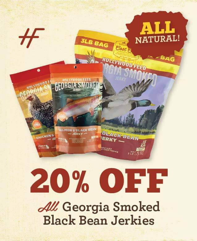Georgia Smoked Black Bean Jerky - 20% Off