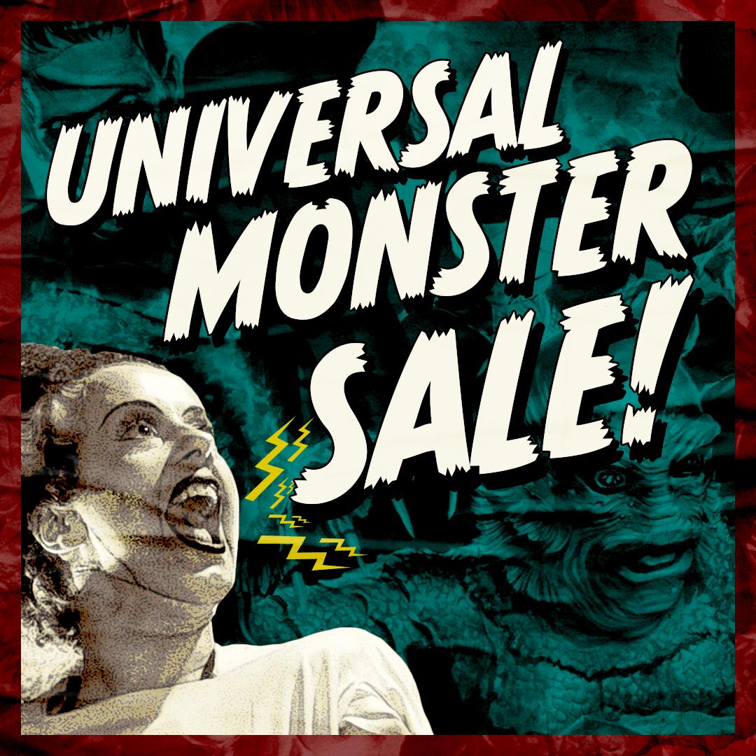 Universal Monster Sale