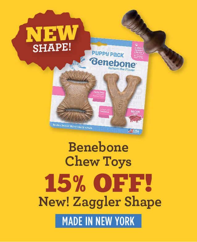 Benebone chews - fifteen percent off