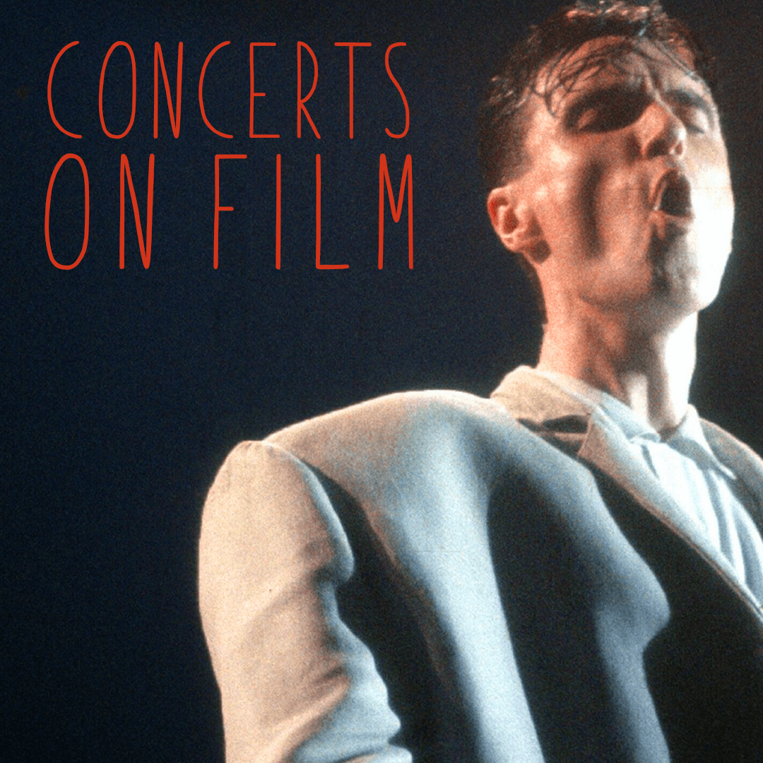 Concerts on film