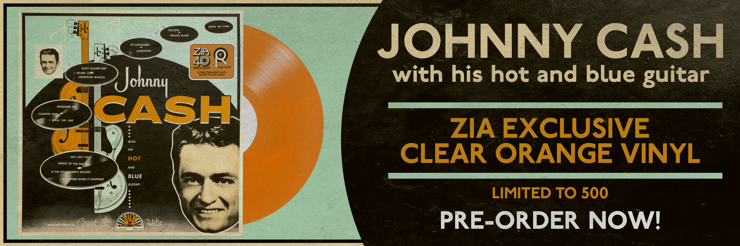 Johnny Cash Zia Vinyl Exclusive
