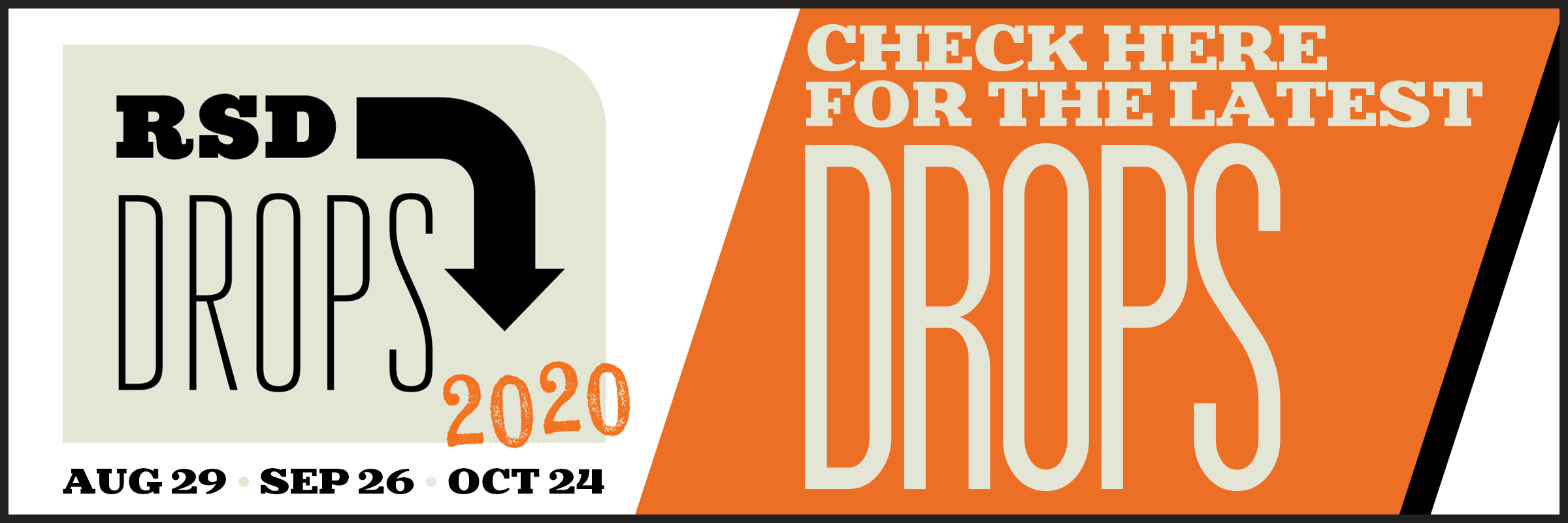 RSD Drops Info