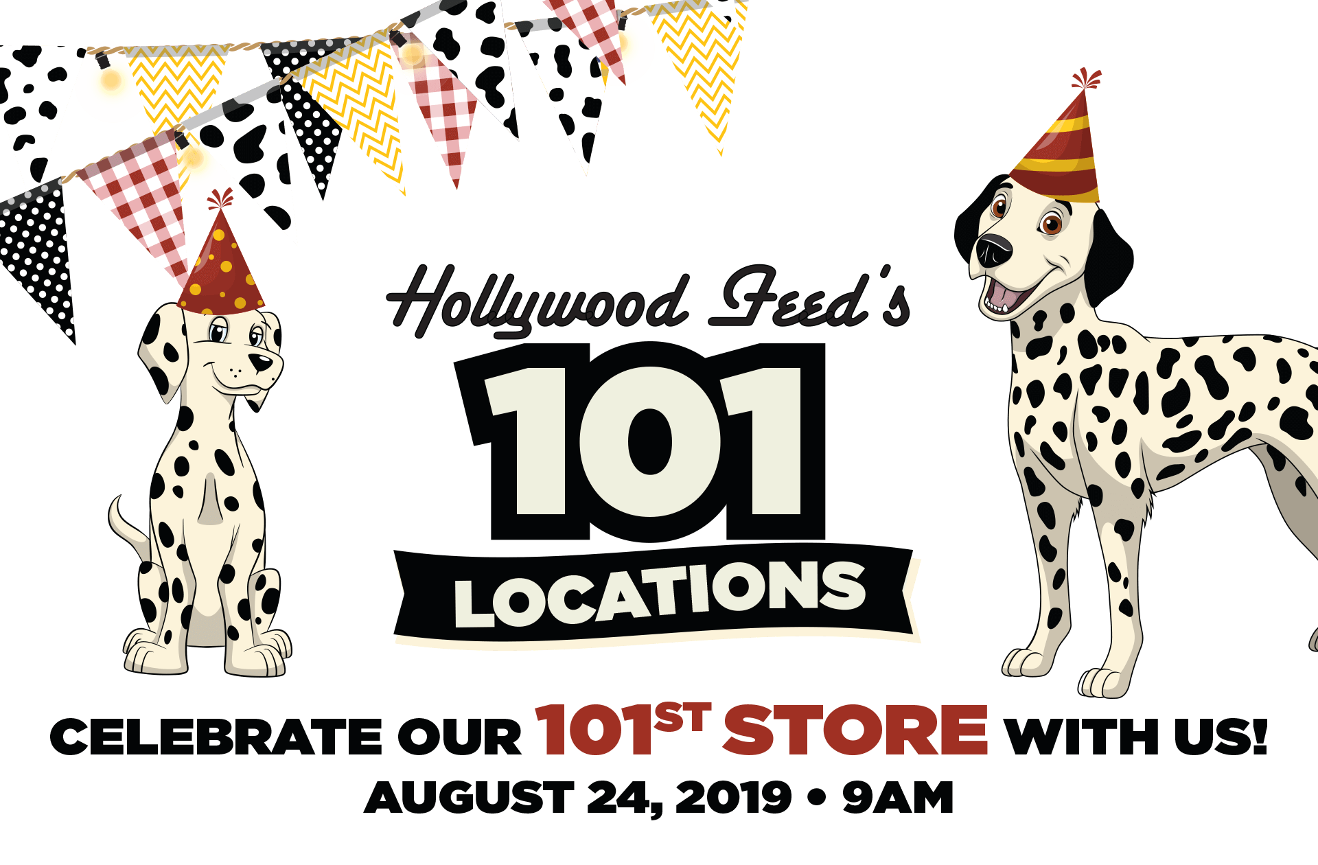 Celebrate our 101st Store with Us!